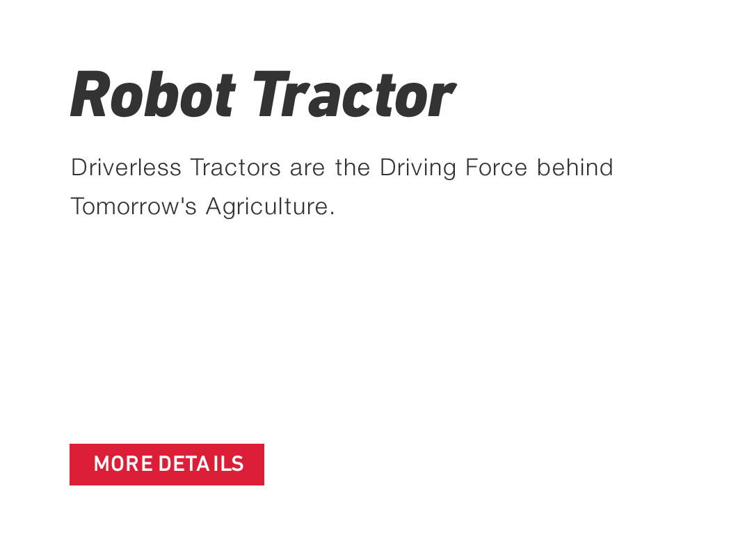 Robot Tractor Driverless Tractors are the Driving Force behind Tomorrow's Agriculture