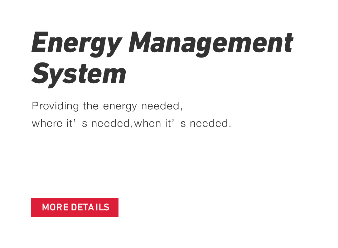 Energy management system Providing the energy needed,where it's needed,when it's needed.